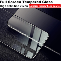 IMAK pokrowiec ochronny do Huawei Mate 30 Lite szkło hartowane do Huawei Mate30 Lite szkło