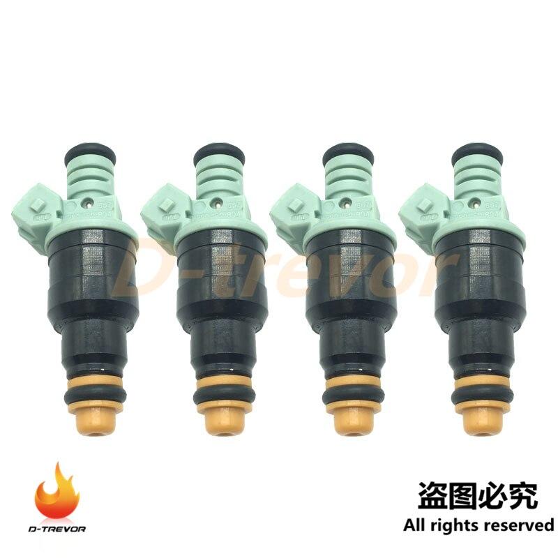 4Pcs OEM 0280150804 Fuel Injector Nozzle for Volvo 940 740 760 2.3L 1990-1995 852-12146