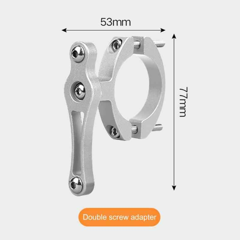 Bike Cup Holder Cycling Double Screws Water Bottle Cage Drink Bicycle Handlebar