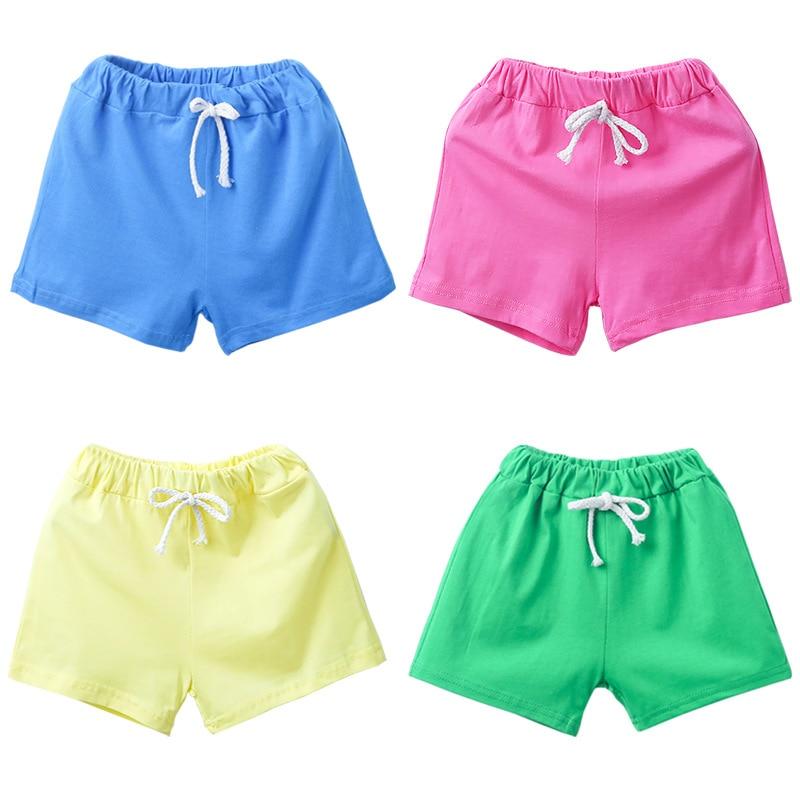 Summer Children's Wear Children's Shorts Summer New Candy Color Boys Beach Pants Pants Shorts