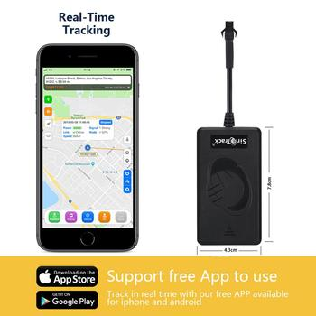 SinoTrack Car GPS Tracker real time tracking GSM GPRS Monitor mini Locator device ST-900 for motorcycle vehicle With Free  APP 6