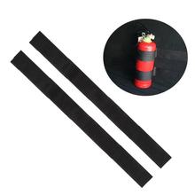 Car Tail Box Fire Extinguisher Fixing Belt Storage  Strip наклейки на авто Stripe Durable speedwow car styling 4pcs set car trunk receive store content bag storage network fixed fire extinguisher magic strip fixed belt