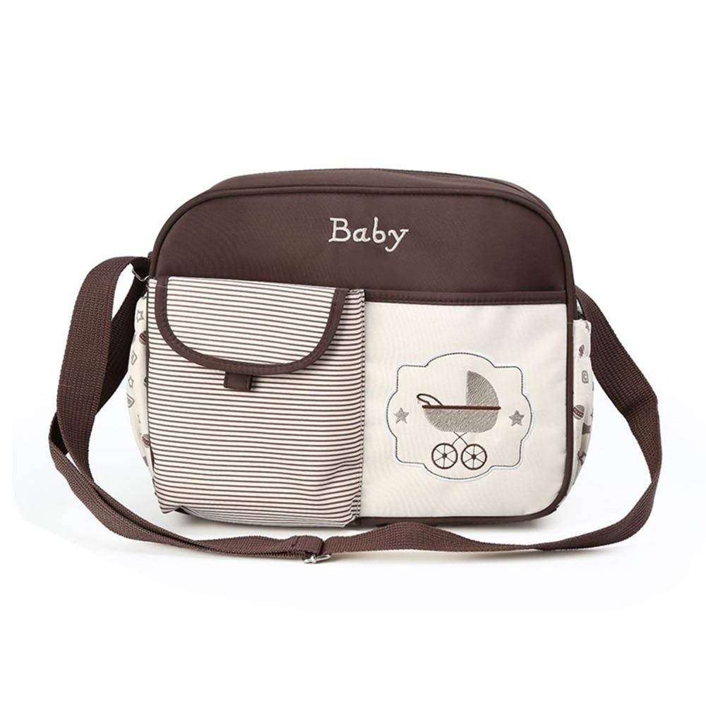 Insular Waterproof Diaper Bags Large-capacity Diaper Bag Shoulder Baby Bags For Mom Maternity Handbag Diaper Bags