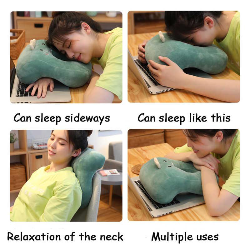 昼寝寝顔枕オフィステーブル学校の机昼寝頭頸部枕サポーターシートクッションヘッドレスト旅行首枕
