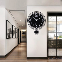 2020 New Wall Clock Creative Watch Modern Design diy Stickers Silent Home Decor for Living Room Free Shipment