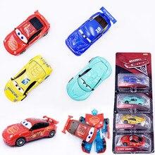 Nouveau modèle de voitures Disney Pixar Cars 3, Lightning, McQueen, Dinconc camion 1:64, modèle de voiture en métal moulé, jouet pour enfants, cadeau pour garçons, 4 pièces/ensemble