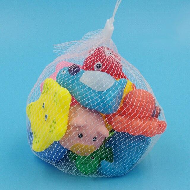 Set Mainan Karet Squeeze Hewan  6