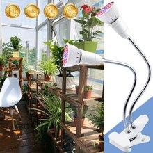 E27 oświetlenie do uprawy pełnozakresowe LED roślin lampa namiotowa żarówka LED lampa fito 48 60 80 126 200 diody LED uprawy hydroponika światła 220V