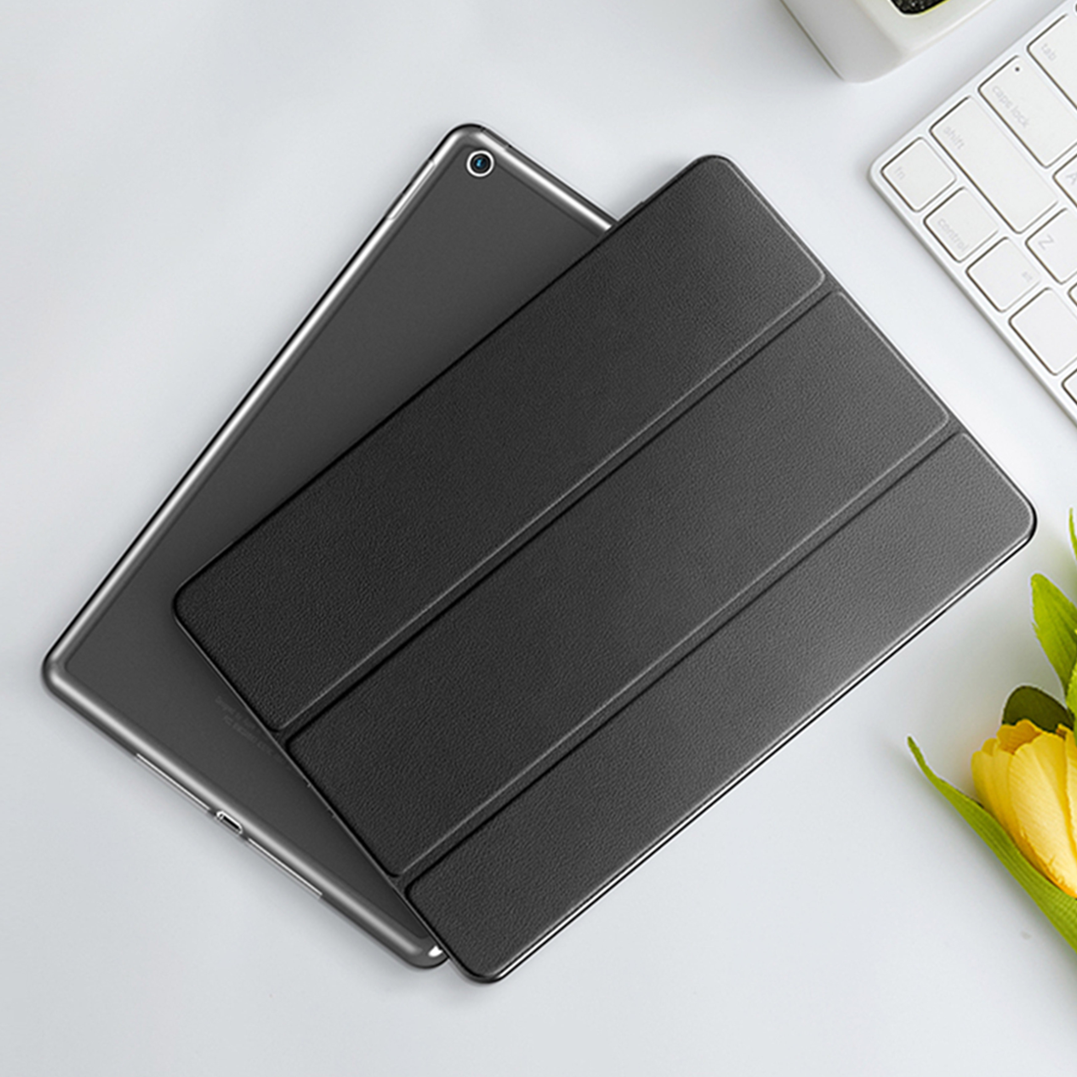 Magnetic Case For Samsung Galaxy Tab A 8.0 P200 P205 2019 8'' Case Flip Tablet Cover For TAB A 8 2019 Leather Smart Stand Shell