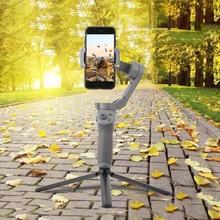 Dayanıklı katlanır Tripod bağlama aparatı tutucu DJI OM 4 Osmo mobil 3 masaüstü standı el Gimbal kamera sabitleyici aksesuarları