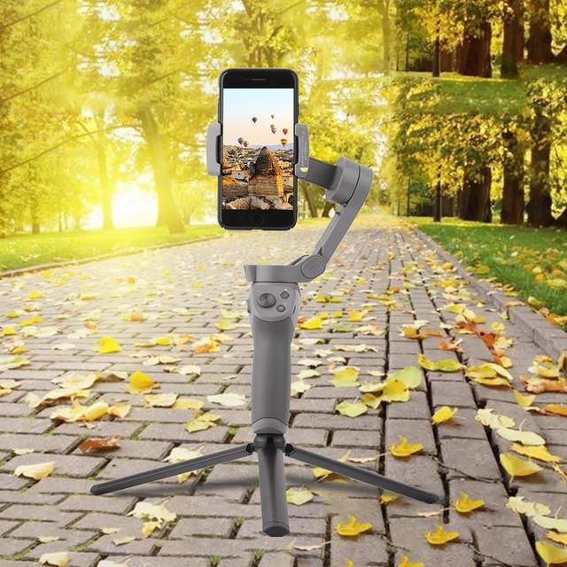 Durable Folding Tripod Mount Holder for DJI OM 4 Osmo Mobile 3 Desktop Stand Handheld Gimbal Camera Stabilizer Accessories
