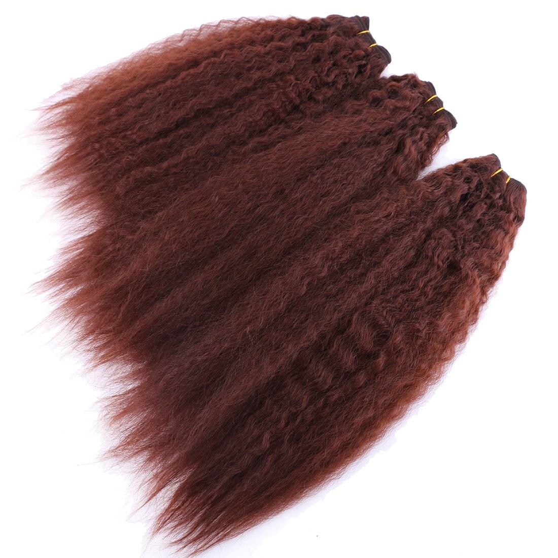 do cabelo pacotes 3 peças peso total