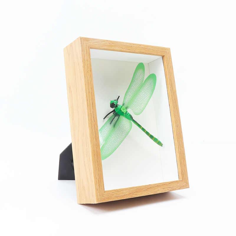 Disesuaikan Stereo Hallow Kreatif Diy Kertas Quilling Bingkai 67 8-Inch A4 Kering Bunga Bingkai Tanaman Kupu-kupu Spesimen P