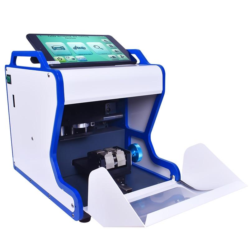 Magic A9+ Key Duplicating Machine Automatic Key Cutting Machine Drill Machine To Make Car Door Keys Locksmith Tools