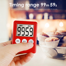 Kitchen Timer, Chef Cooking Timer Clock With Load Alarm, Mechanical - Magnetic Backing, 60 Minute Countdown Reminder cute animal model kitchen timer mechanical alarm clock without battery reminders timer 7 8 7 2cm free shipping