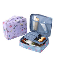 Multifunction travel Cosmetic Bag Women Makeup Bags Toiletries Organizer Tote Waterproof Female Storage Make up Cases Wash Pouch(China)