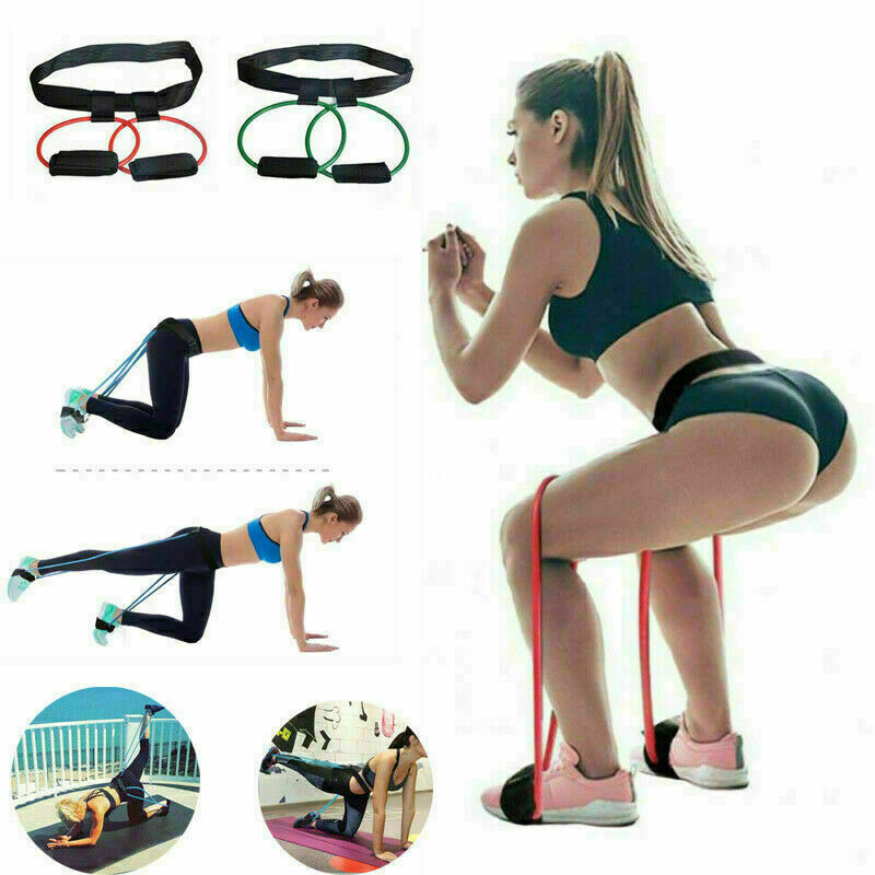 Booty Resistance Band Exercise Belt Leg And Butt Muscles Trainning Fitness HOT!