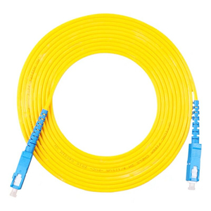 Image 4 - 10PCS/bag SC UPC Simplex mode fiber optic patch cord SC UPC 3.0mm fiber optic jumper