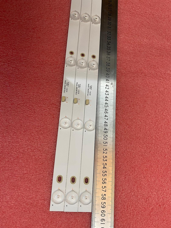 Image 3 - Новинка 3 шт./лот 7LED светодиодная подсветка для 32PHF5061 32PHF3001 32PHF3061 32PHF3021 GC32D07 ZC21FG 15 RF EG320B32 0701S 07A1Светодиодные ленты    АлиЭкспресс