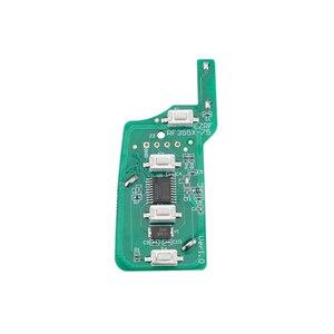 Image 5 - BHKEY 4 כפתורים Flip Floding חכם רכב מפתח עבור BMW 1 3 5 6 סדרת X5 רכב מרחוק מפתח Fob 315mhz 433mhz 868mhz CAS2 מערכת