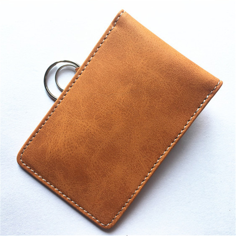 Image 4 - New Leather Signal Blocking Keyless Entry Car Key RFID Cover Pouch Case Bag 1Pc True leather double deck car shielded key pack-in Key Case for Car from Automobiles & Motorcycles