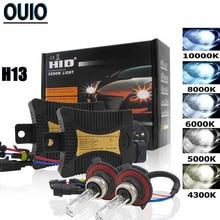 55W HID LX קסנון ערכת רכב אורות H1 H3 H4 H7 H8 H11 H13 9005 9006 9012 מקור 4300K 6000K 8000K 10000K רכב פנס נורות