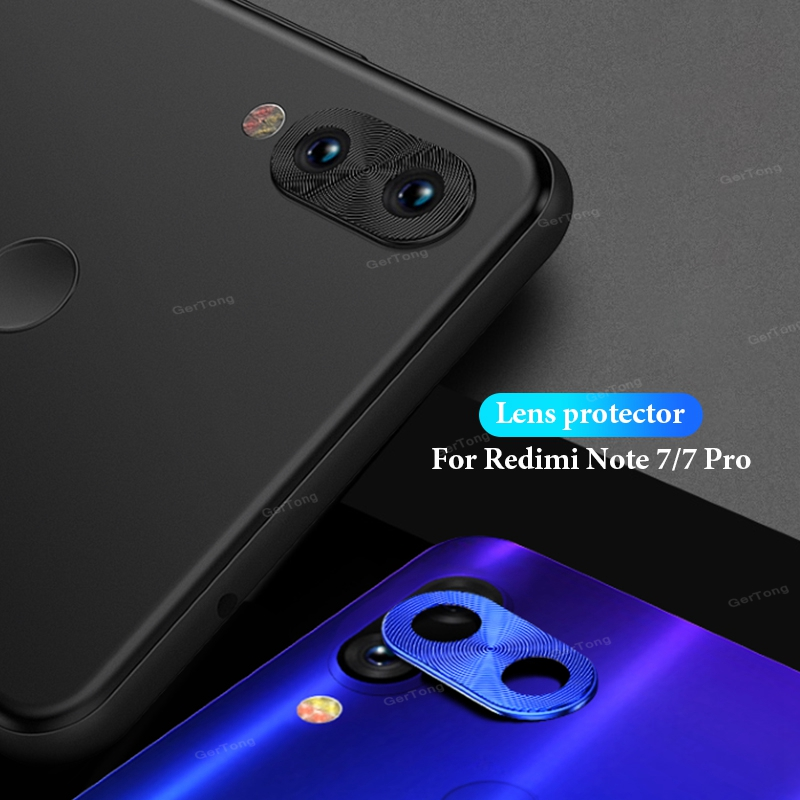 Camera Lens Protector Ring Plating Aluminum For Xiaomi Redmi Note 7 8 Pro Cover Ring Protection 2