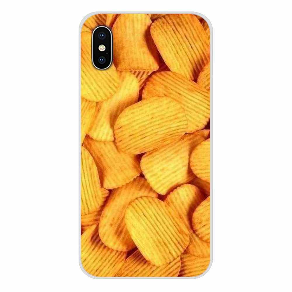 Food cute brown potato Accessories Phone Shell Covers For Xiaomi Redmi 4A S2 Note 3 3S 4 4X 5 Plus 6 7 6A Pro Pocophone F1