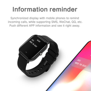 Image 5 - COLMI P8 Smart Watch IPX7 Waterproof Bluetooth Heart Rate Blood Pressure Smartwatch for Xiao mi Android IOS Phone