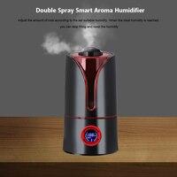 Timing 3.5l umidificador de ar ultra sônico humidificador difusor aroma ar com luz noturna para casa escritório do carro|Umidificadores| |  -