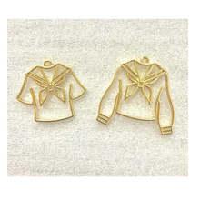 5 шт школьная форма УФ смола металлическая оправа ювелирное