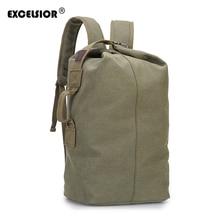 EXCELSIOR Fashion Backpacks Original Design Travel Bag Women Man Backpack Canvas Shoulder Bags mochila feminina