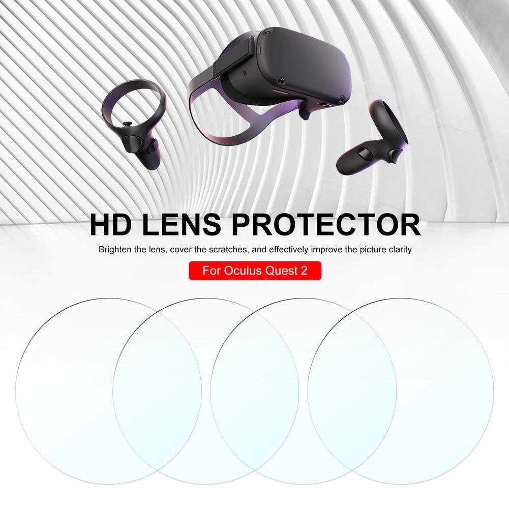 Защитная пленка для очков Oculus Quest 2, мягкая ТПУ пленка для защиты линз от царапин, 4 шт.