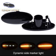 led side turn indicator signal sequential blinker lights for Nissan Cubr Juke Leaf Micra March Note NP300 Qashqai Tiida X-trail car styling wheel center cover stickers hub caps for nismo logo for nissan qashqai j11 j10 juke tiida almera x trail note sentra