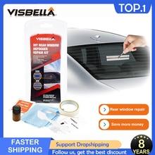 VISBELLA Car Rear Window Defogger Repair Kit DIY Quick Repair Scratched Broken Defroster Heater Grid Lines High quality