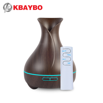 550ML Ultrasonic Aromatherapy Humidifier Essential Oil Diffuser Air Purifier for Home Mist Maker Aroma Diffuser Fogger LED Light 150ml leaf pattern usb air humidifier ultrasonic aroma diffuser mist maker fogger mini portable office air purifier 4 colors