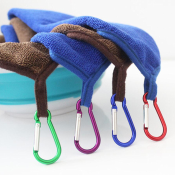 Ręcznik wędkarski odzież wędkarska pogrubienie nieprzywierająca chłonna na zewnątrz sport wytrzeć ręce ręcznik piesze wycieczki wspinaczka sprzęt wędkarski tanie i dobre opinie Quick-dry