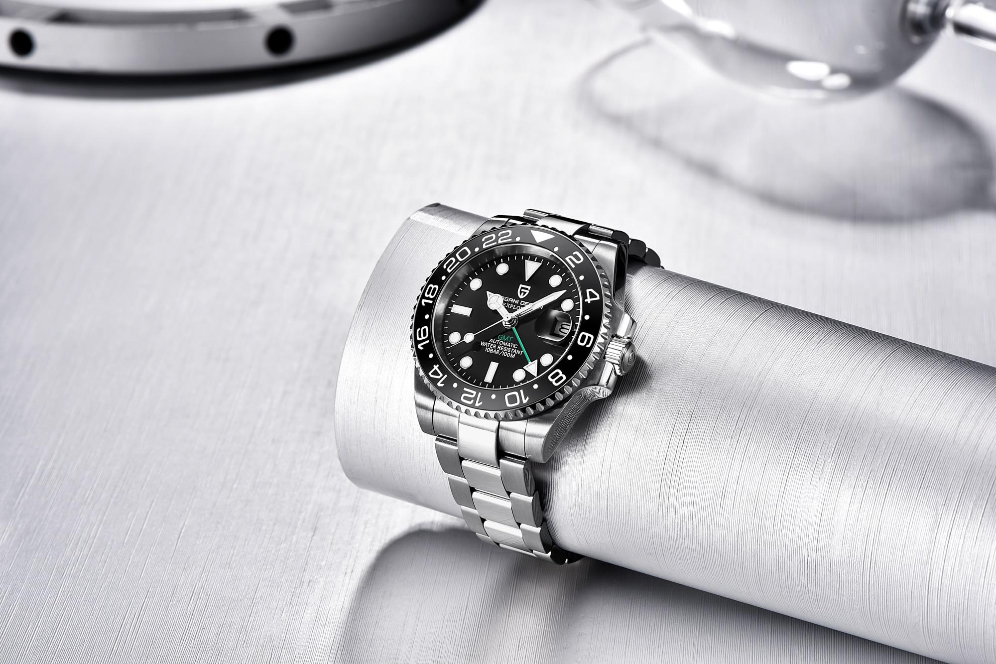 Pagani Design PD-1662 GMT BLKJ