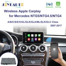 Joyeauto اللاسلكي أبل Carplay لمرسيدس NTG5.0 /4.5/4.0 A/B/C/E/S/GLK/GLA/GLC/SLK/ML فئة أندرويد السيارات iOS مرآة سيارة اللعب