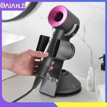 Dyson Hair Dryer Holder Stand Aluminum Desktop Rack Storage Shelves Multipurpose Hairdryer Hanger Save Space