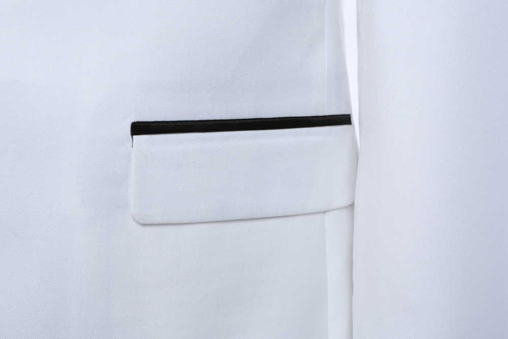 DARO de lujo para Hombre Trajes chaqueta pantalones vestido Formal traje de trajes de boda esmoquin de novio (chaqueta + pantalones) DR8858