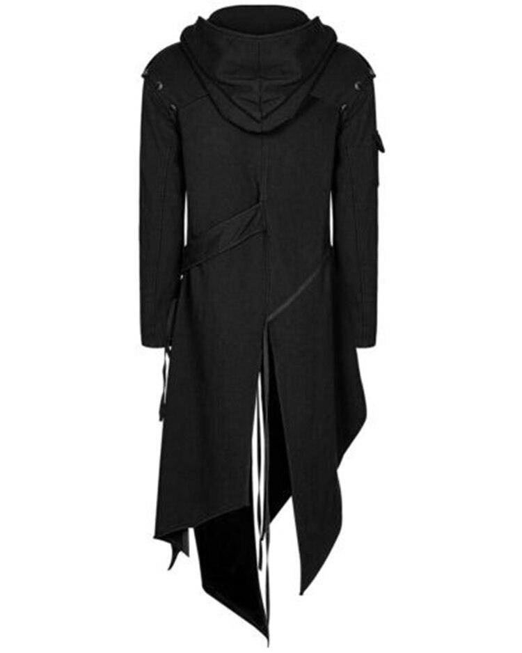 Hd2449bc794564ce787736267feb6ea604 2019 Men Long Sleeve Steampunk Victorian Jacket Gothic Belt Swallow-Tail Coat Cosplay Costume Vintage Halloween Long Uniform