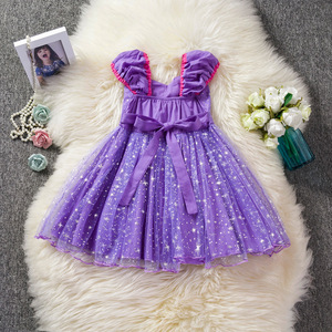 Image 5 - Toddler Baby Girls Rapunzel Sofia Princess Costume Halloween Cosplay Clothes Toddler Party Role play Kids Fancy Dresses For Girl