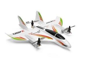 Image 2 - X450.0001 עיקרי גוף גוף מטוס כיסוי חופה WLtoys XK X450 לוחם RC מטוס מטוסי מסוק חלקי חילוף סטים