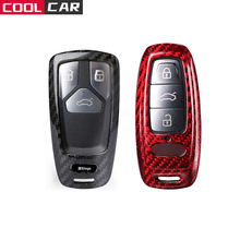 Car Accessories for AUDI Key case cover A4 New A4L A5 A6L QT S5 S7 Q7 TTS A8 A8L 2019 Years Plus 55 TFSI quattro Car Styling