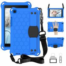קצף עמיד הלם Stand EVA כיסוי עבור Samsung Galaxy Tab 8.0 2019 SM T290 SM T295 T290 T295 ילדים בטוח Tablet סיליקון מקרה + עט