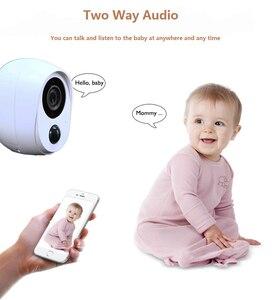 Image 5 - Wouwon 100% sans fil inclus batterie IP caméra extérieure sans fil résistant aux intempéries sécurité WiFi caméra CCTV alarme photo iCSee APP