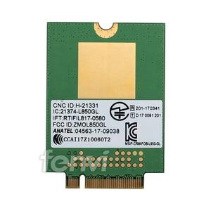 Image 2 - 4G LTE Sans Fil Module Fibocom L850 GL M.2 Carte FRU 01AX792 Lenovo ThinkPad X1 Carbone Gen6 X280 T580 T480s L480 X1 Yoga Gen 3