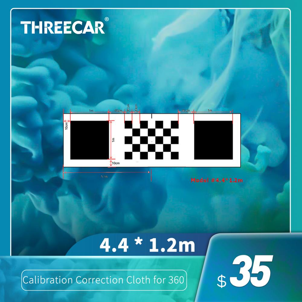4.4*1.2M/1.6*1.2M 3D Car Camera Correction Calibration Cloth For 360 Degree Surround Bird View Panoramic DVR System