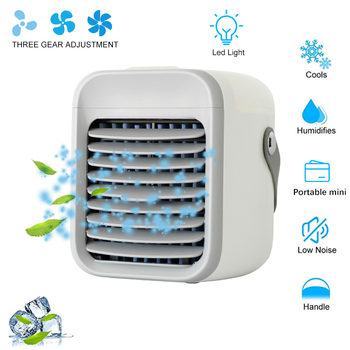 JOYLOVE New Air Cooler Personal Space Cooling Any Space Portable Cooler Air Conditioner LED Night Light With Humidifier